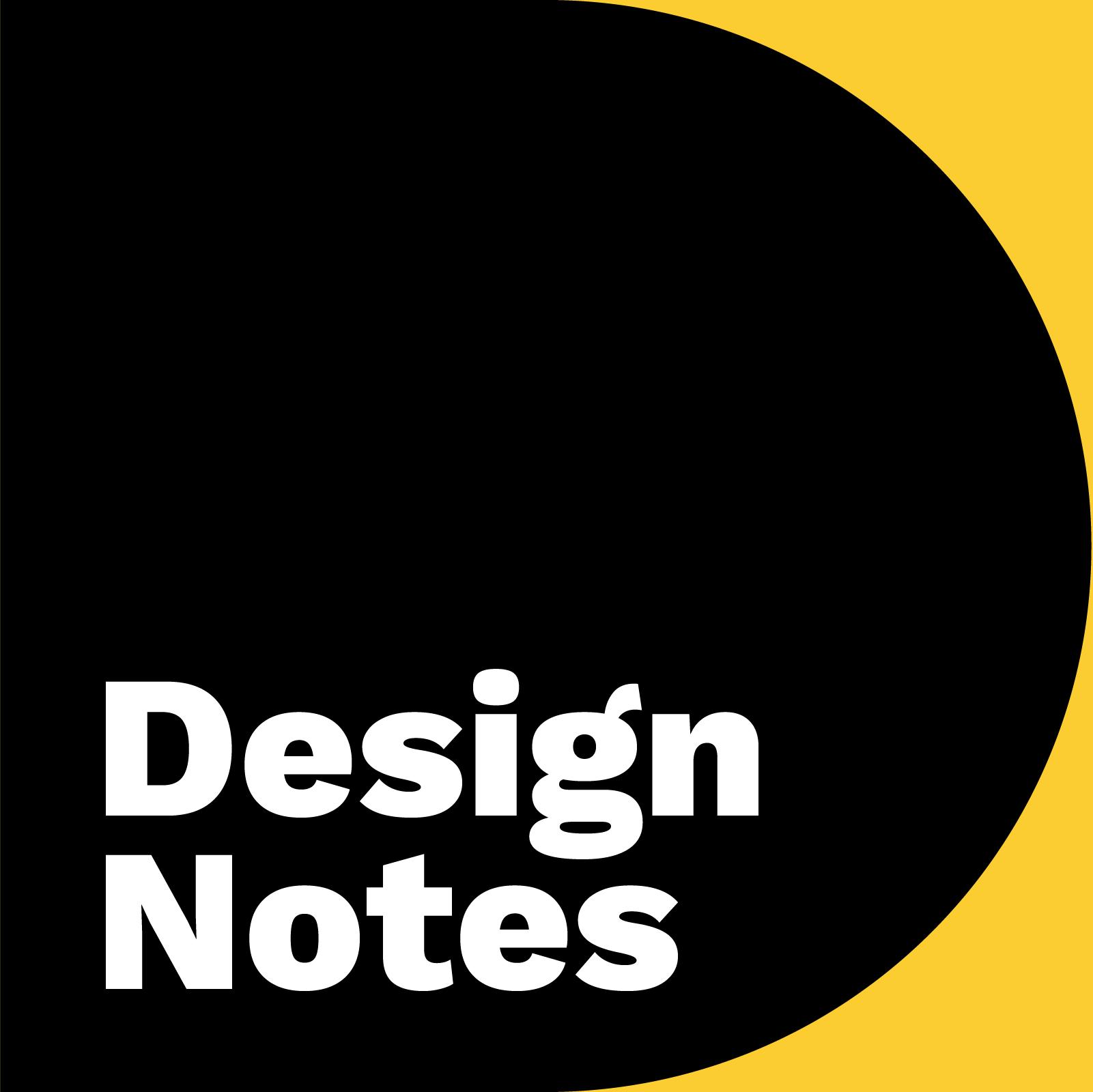 Design Notes show art
