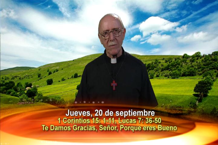 Artwork for Dios te Habla con Fr. Lenny de Pasquale;  Tema el hoy: Te damos gracias, Señor, porque eres bueno.