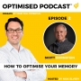 Artwork for #2 - How to optimise your memory with Scott Bornstein