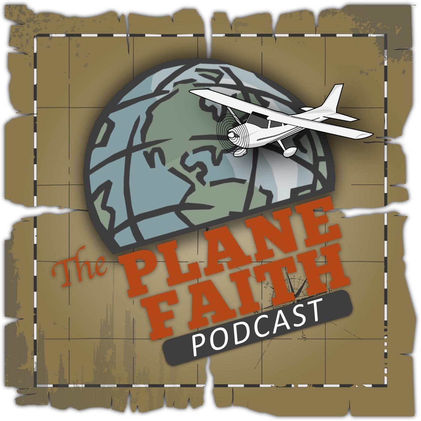 The Plane Faith Podcast show art