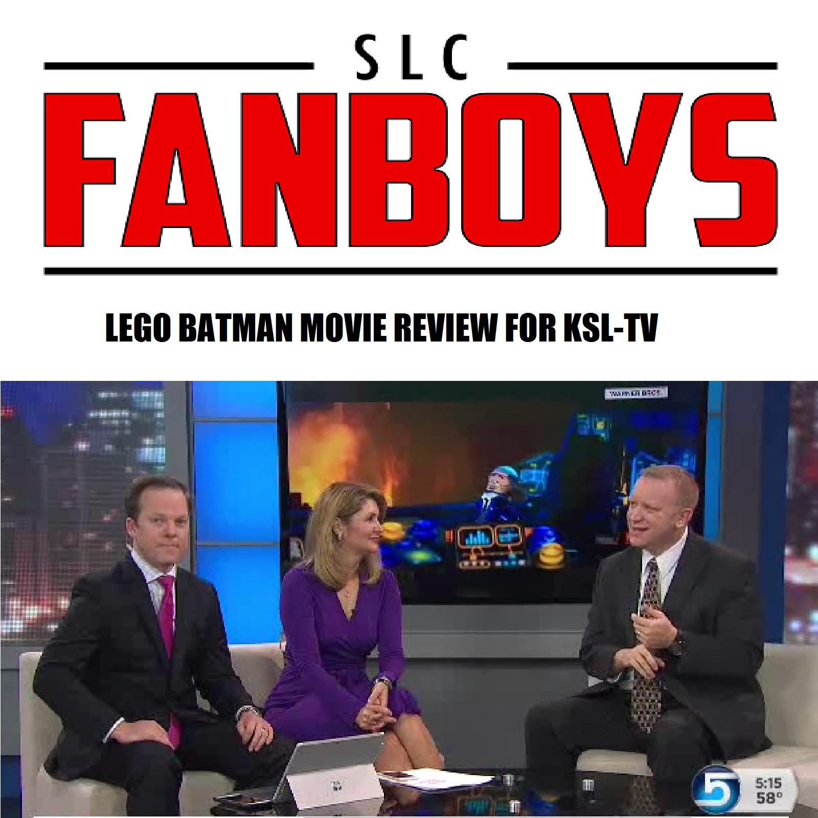 Artwork for VIDEO: LEGO BATMAN MOVIE review for KSL-TV (Salt Lake City)