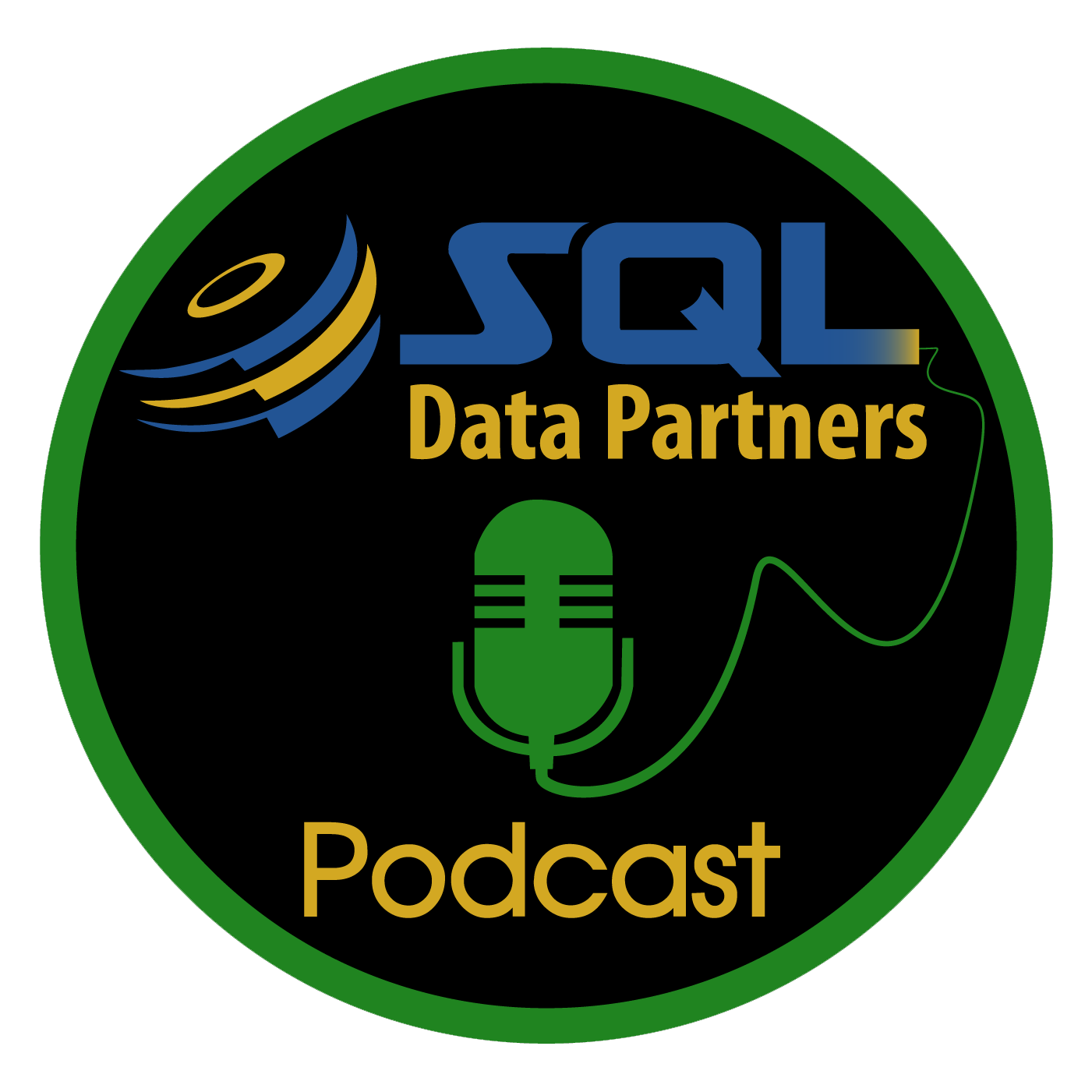 SQL Data Partners Podcast show art