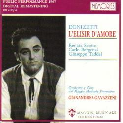 Elisir D'Amore from Florence, 1967