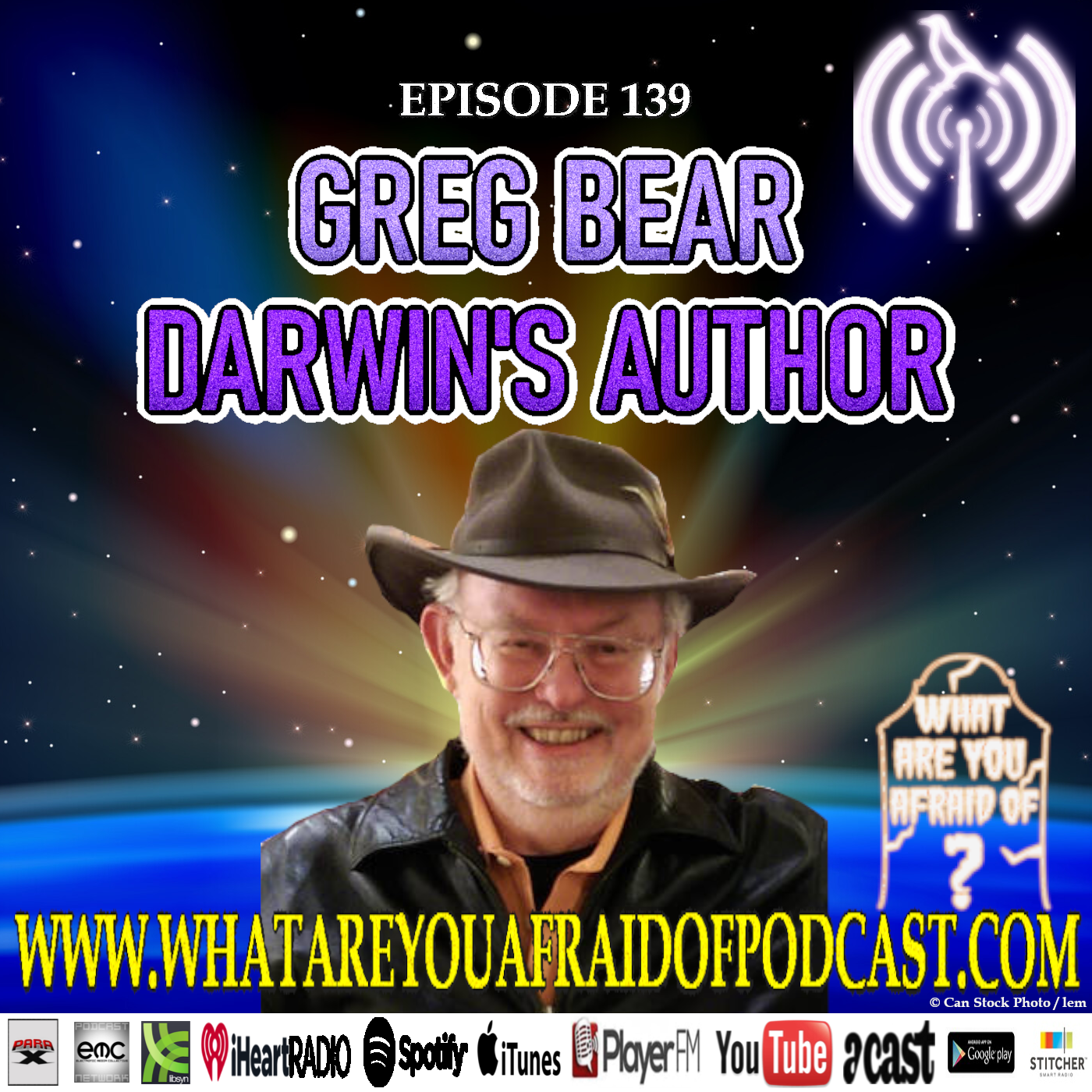 139 - GREG BEAR: DARWIN'S AUTHOR