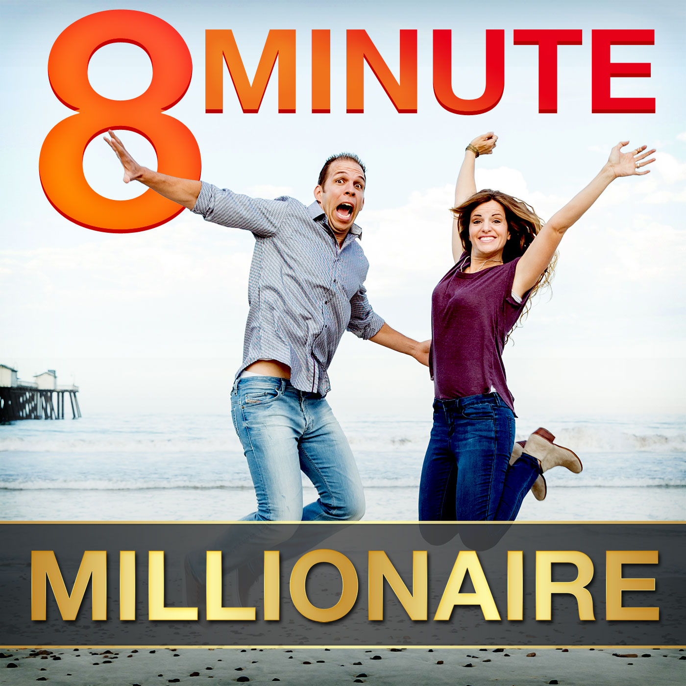 8 Minute Millionaire: Learn the Secrets of Millionaire Entrepreneurs show art