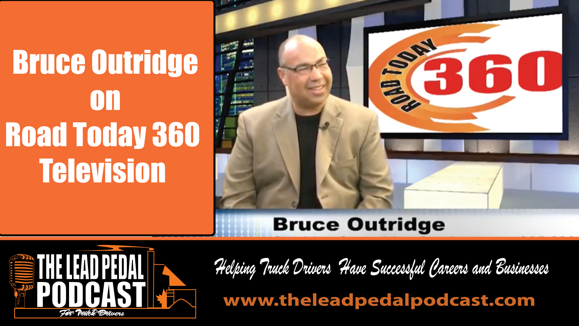 Bruce on Road Today 360 Television