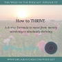 Artwork for #17 How to THRIVE in Your Life