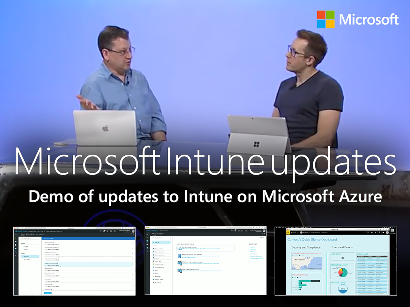 Artwork for Updates to Microsoft Intune on Microsoft Azure