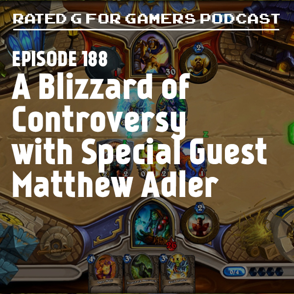 Artwork for Episode 188 - A Blizzard of Controversy with Special Guest Matthew Adler