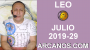 Artwork for HOROSCOPO LEO - Semana 2019-29 Del 14 al 20 de julio de 2019 - ARCANOS.COM