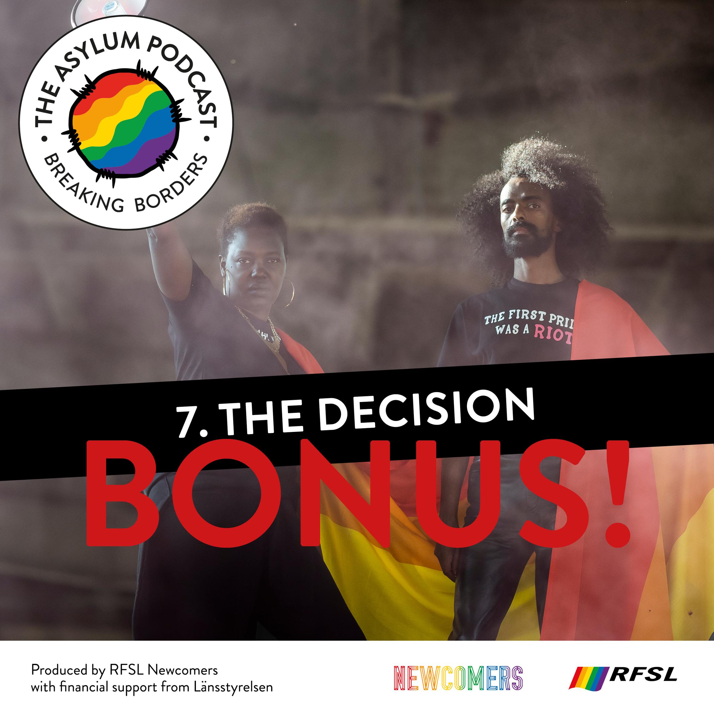 The Asylum Podcast 7. BONUS EPISODE - The Desicion