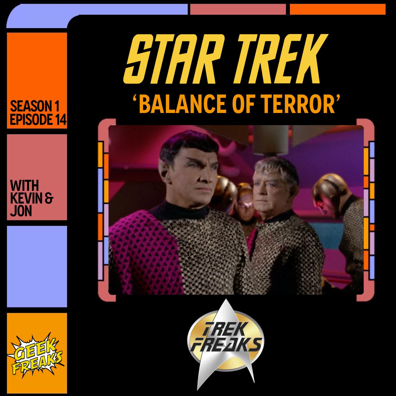 Balance of Terror ToS S1E14 - Trek Freaks show art