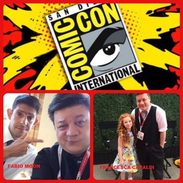 Episode 622 - San Diego Comic Con Recap! Fabio Moon/Francesca Capaldi!