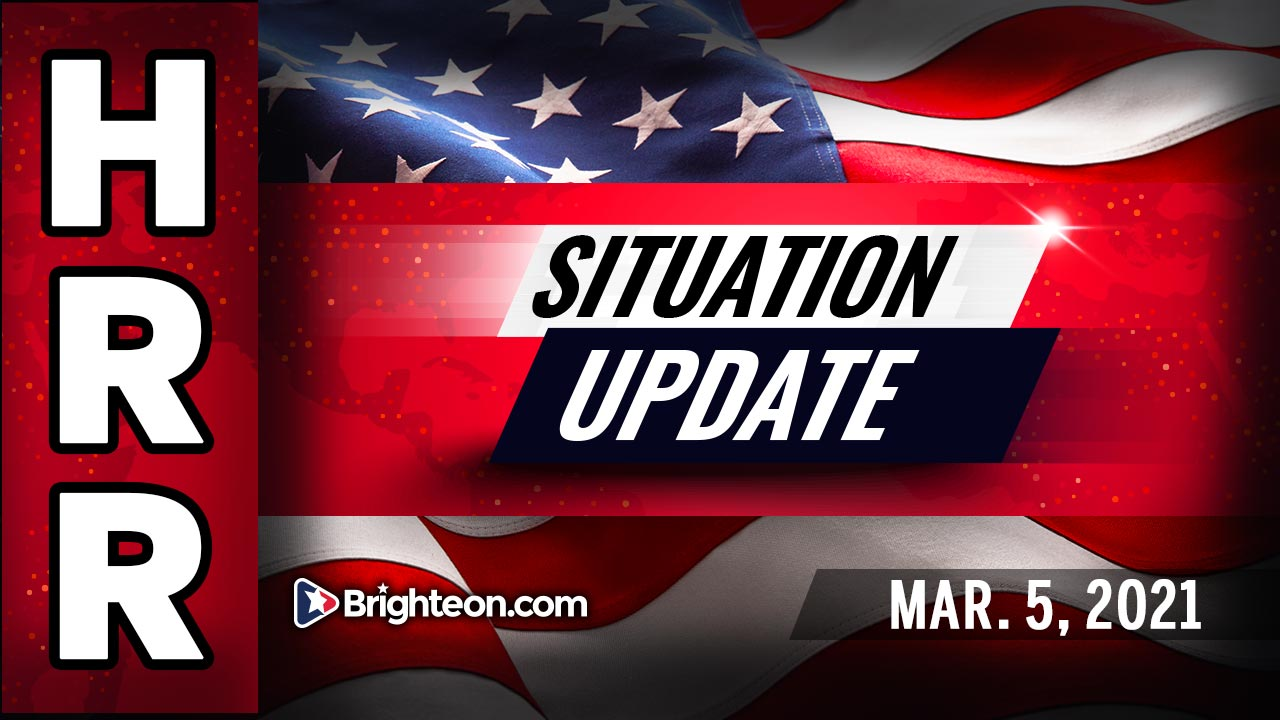 """Situation Update, Mar. 5th, 2021 - The """"Fourth Reich"""" - Nazis in charge - coming cosmic false flag"""