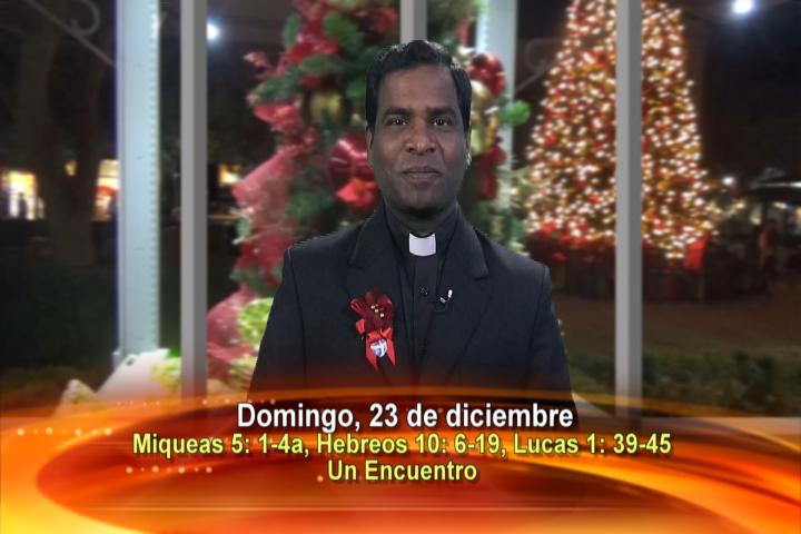 Artwork for Dios te Habla con Fr. Deeber Yonas, SVD;  Tema el hoy:  UN ENCUENTRO
