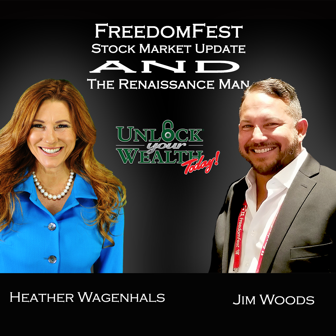 Artwork for FreedomFest and Quarterly Stock Market Update Featuring Renaissance Man Jim Woods