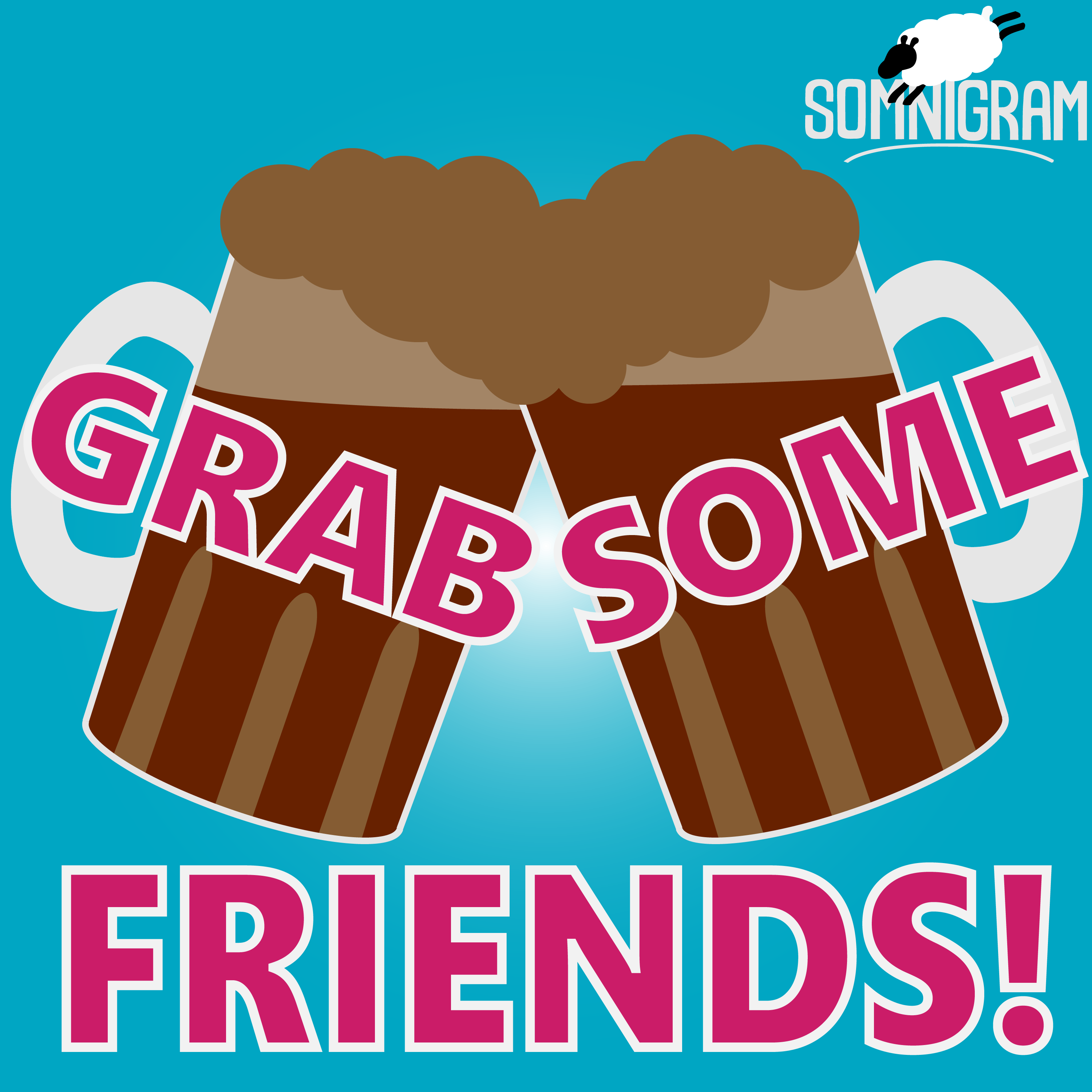 Grab Some Friends! - Trivia Games for You and Your Friends show art