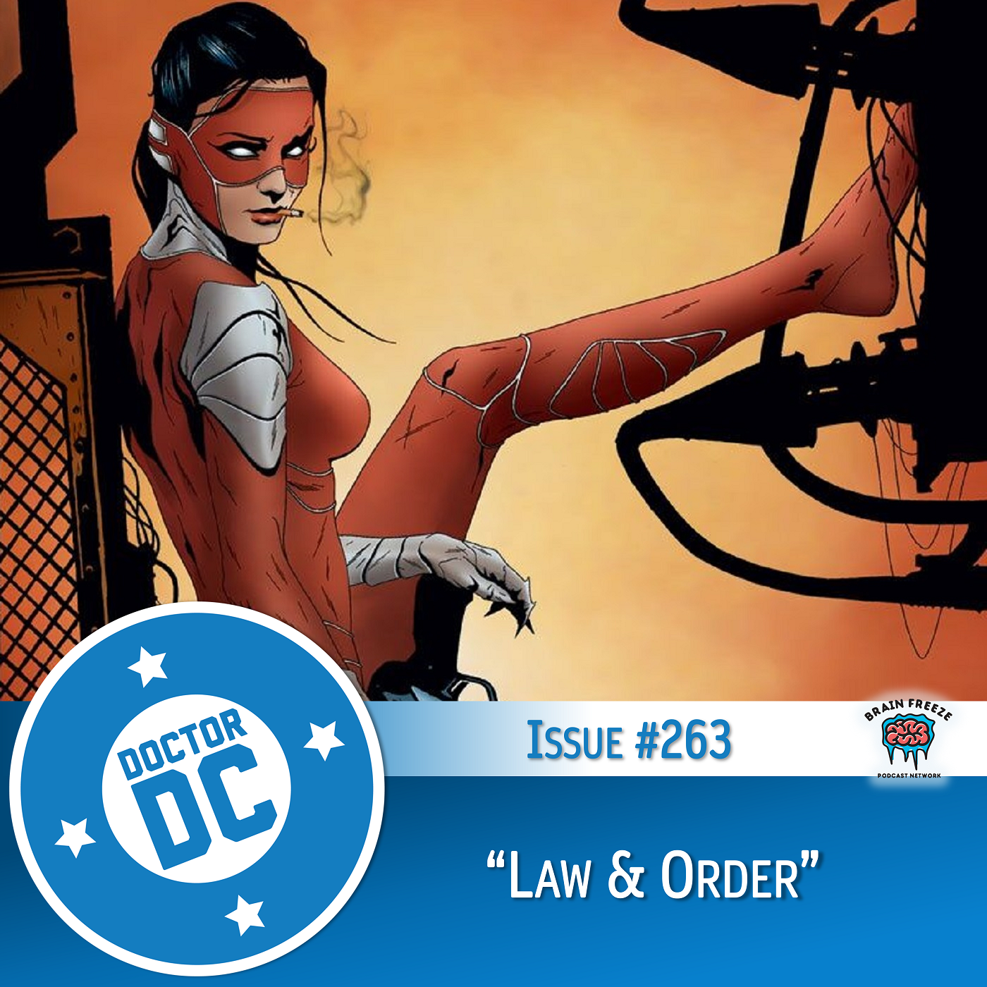 """Issue #263 - """"Law & Order"""" show art"""