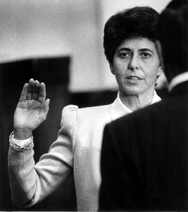 Swearing in of Justice Rosemary Barkett