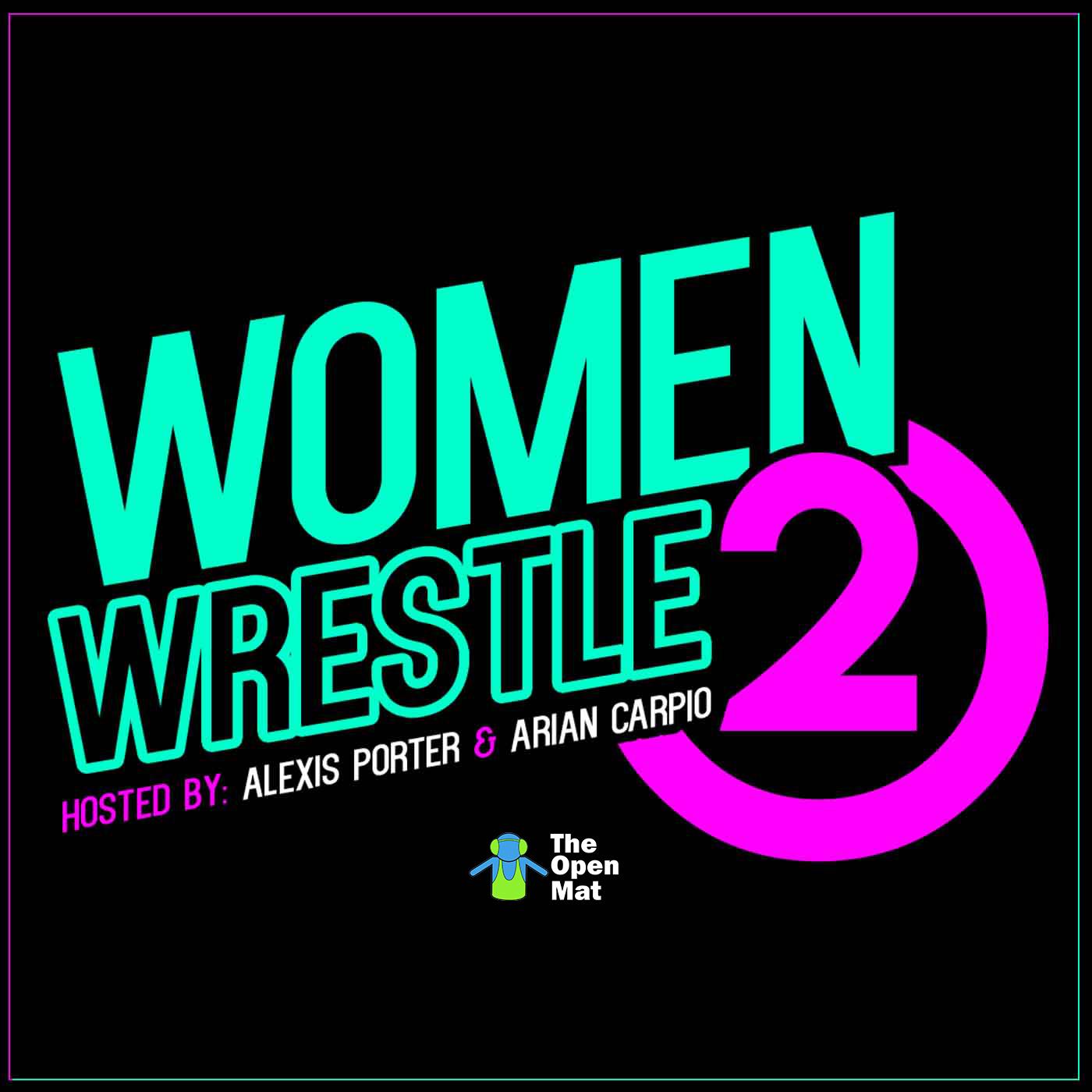 Women Wrestle 2 show art