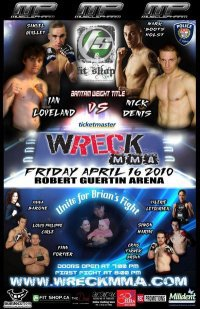 Wreck MMA April 16 Preview