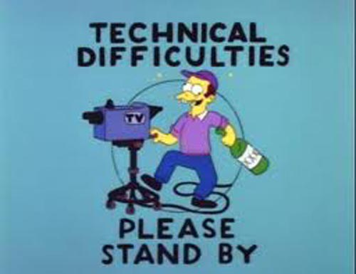 Episode 144: technical difficulties