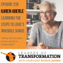 Artwork for 235: Karen Aberle: Learning The Steps To Love's Invisible Dance