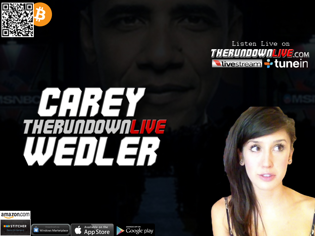 The Rundown Live #229 Carey Wedler (Obama, Trendy, Non Aggression, Liberty)
