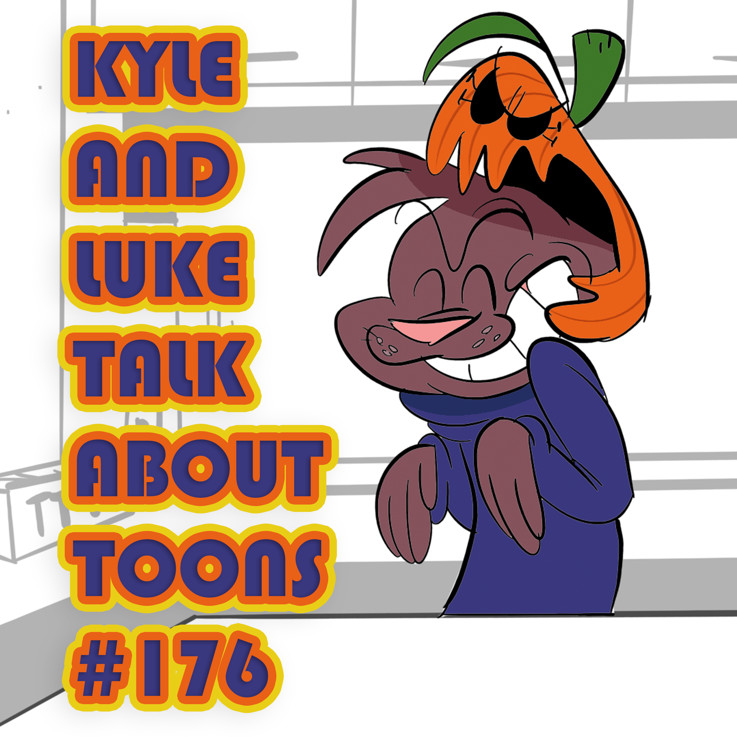 Kyle and Luke Talk About Toons #176: Freestyle Cheese Rapping