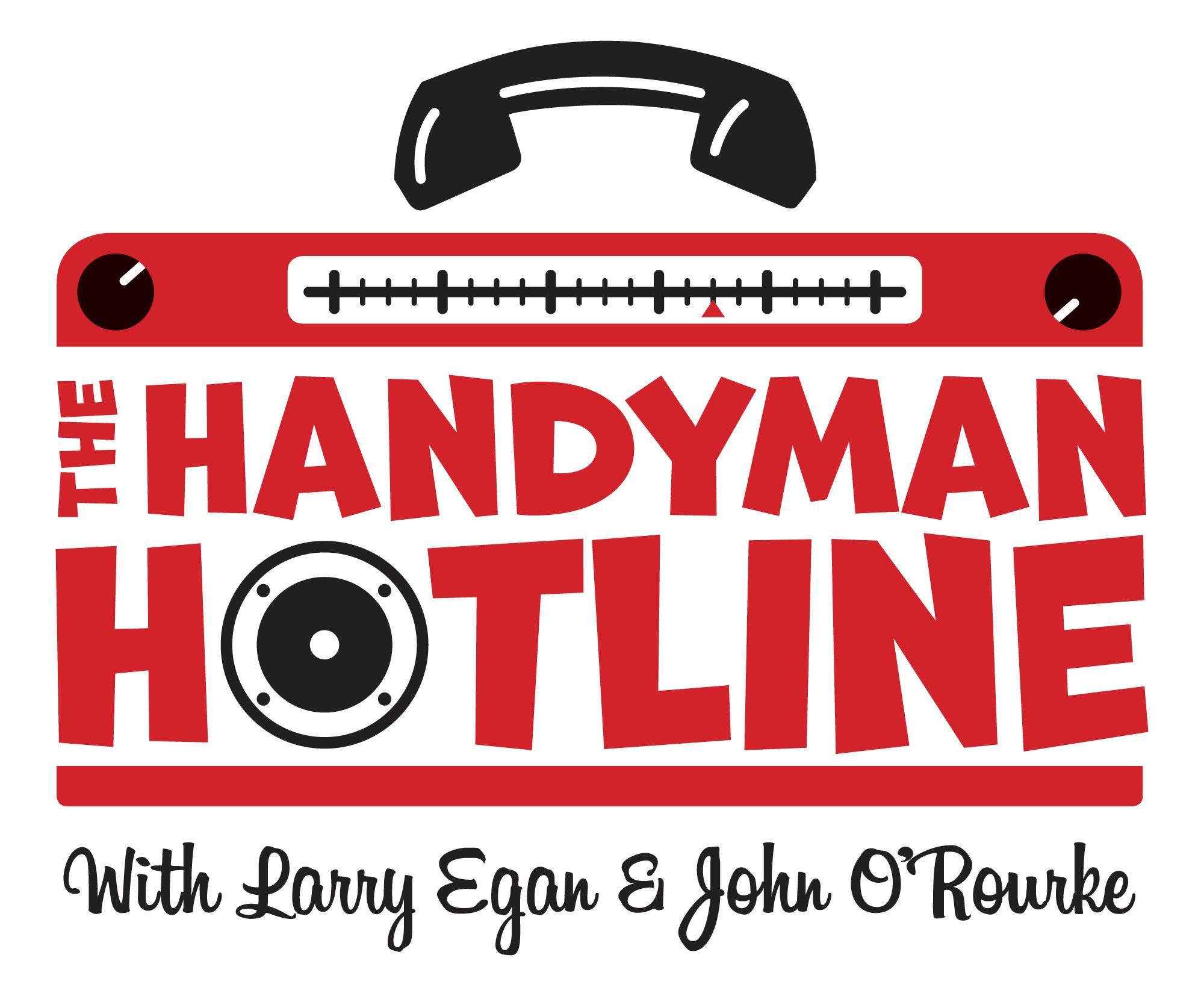 The Handyman Hotline's podcast show art