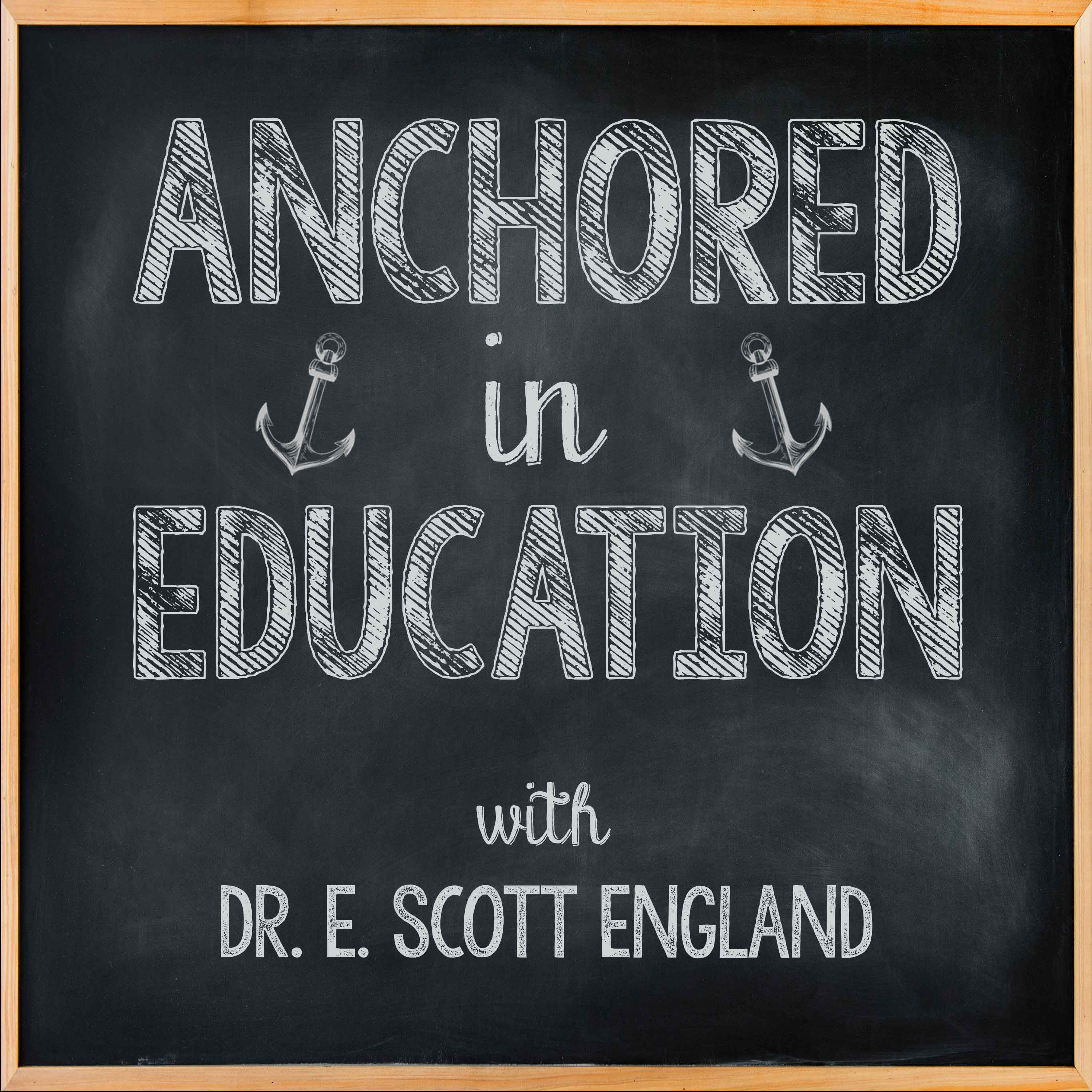 Anchored in Education show art
