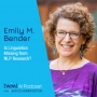 Artwork for Is Linguistics Missing from NLP Research? w/ Emily M. Bender - #376