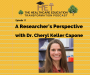 Artwork for Cheryl Keller Capone- A Researcher's Perspective