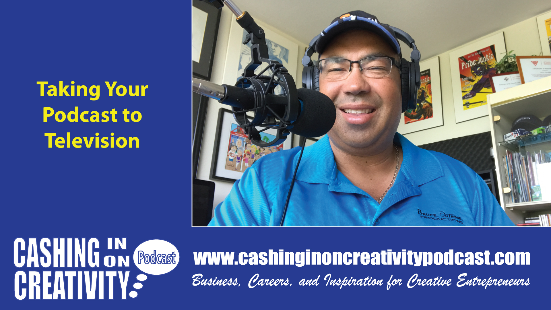 CC261 Taking the Cashing on on Creativity Podcast to Television