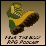 Artwork for Bonus Episode 20 – Fear the Boot stories II