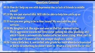 Ask Dr. Doreen - October 30th, 2013