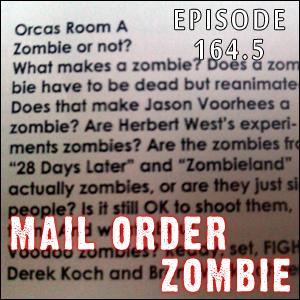 Mail Order Zombie: Episode 164.5 - 'Zombie or Not?' panel from Crypticon Seattle 2011