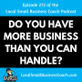 Artwork for Do You Have More Business Than You Can Handle?