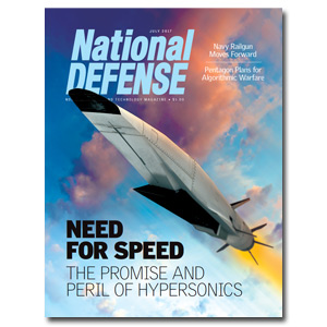 Artwork for July 2017 — Need for Speed:  The Promise and Peril of Hypersonics