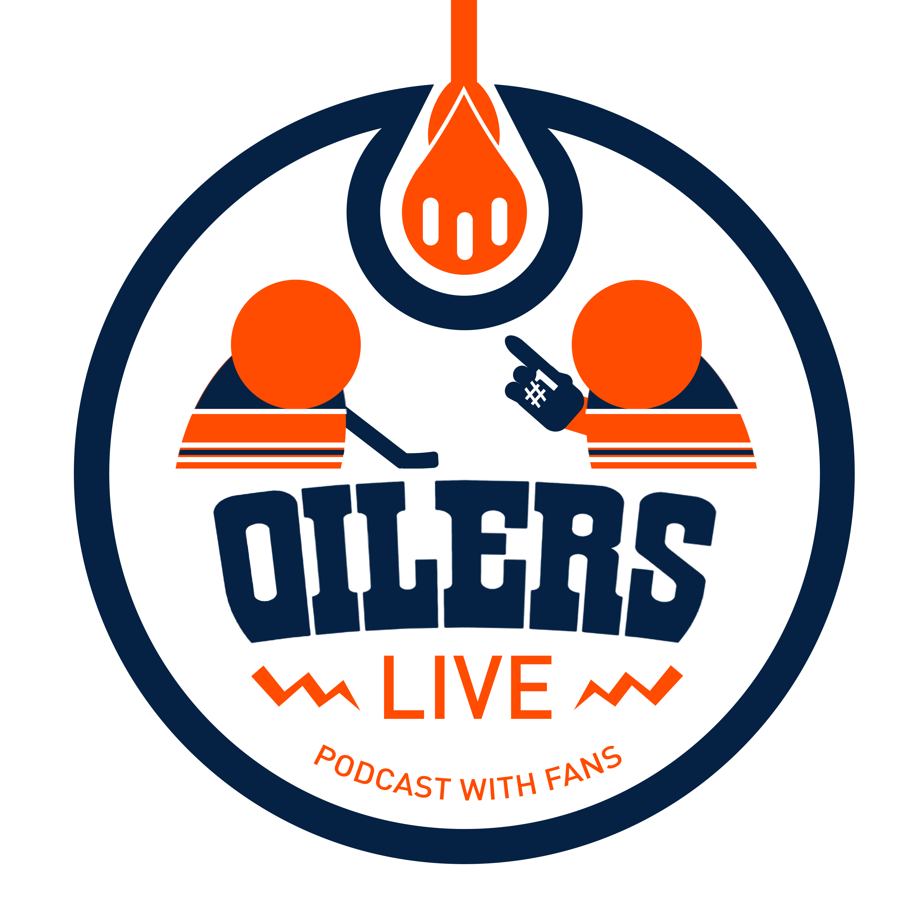 Artwork for Oilers Live Podcast welcomes AJ Haefele from BSN Denver to talk Avs before the game