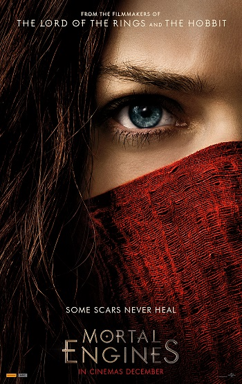 Mortal Engines poster - HEster Shaw