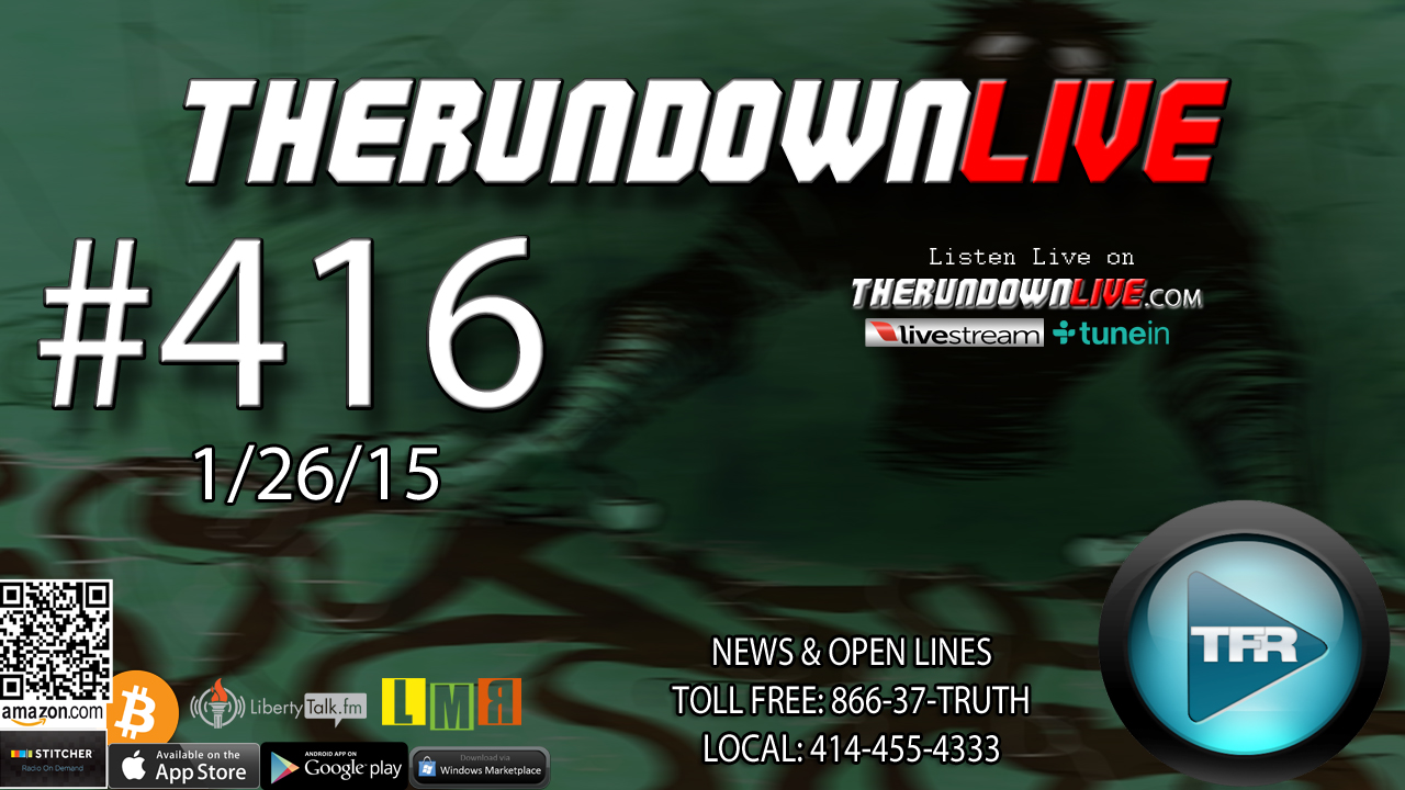 The Rundown Live #416 Open Lines (Snow Propaganda,Weather,Carbon Tax)