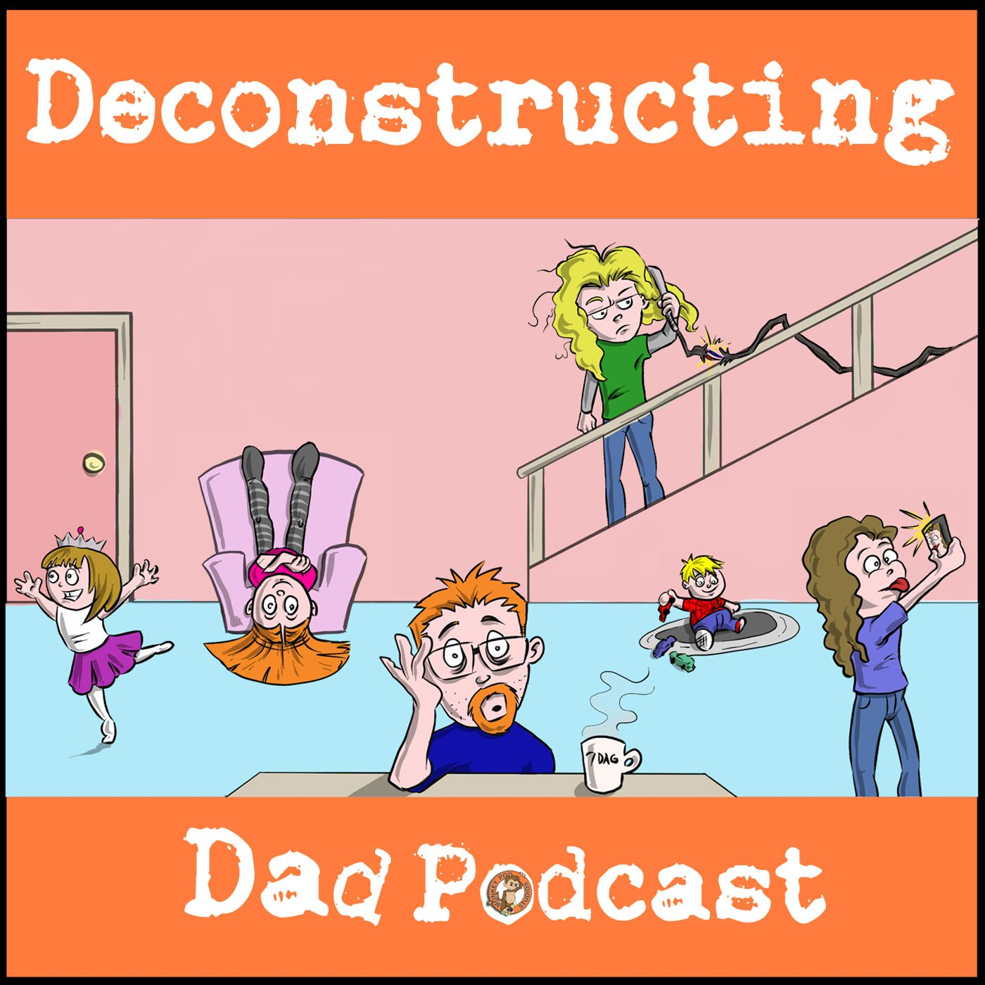 Deconstructing Dad Podcast show art