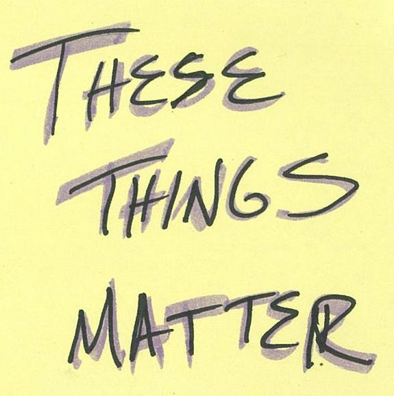These Things Matter Podcast logo