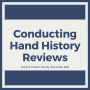 Artwork for Conducting Hand History Reviews