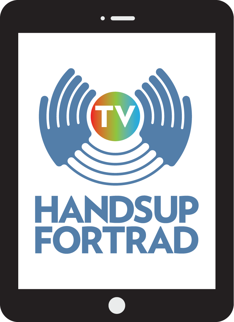 Hands Up for Trad TV show art
