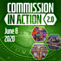 Artwork for June 8, 2020: Shelby County Board of Commissioners   COMMISSION IN ACTION 2.0   KUDZUKIAN