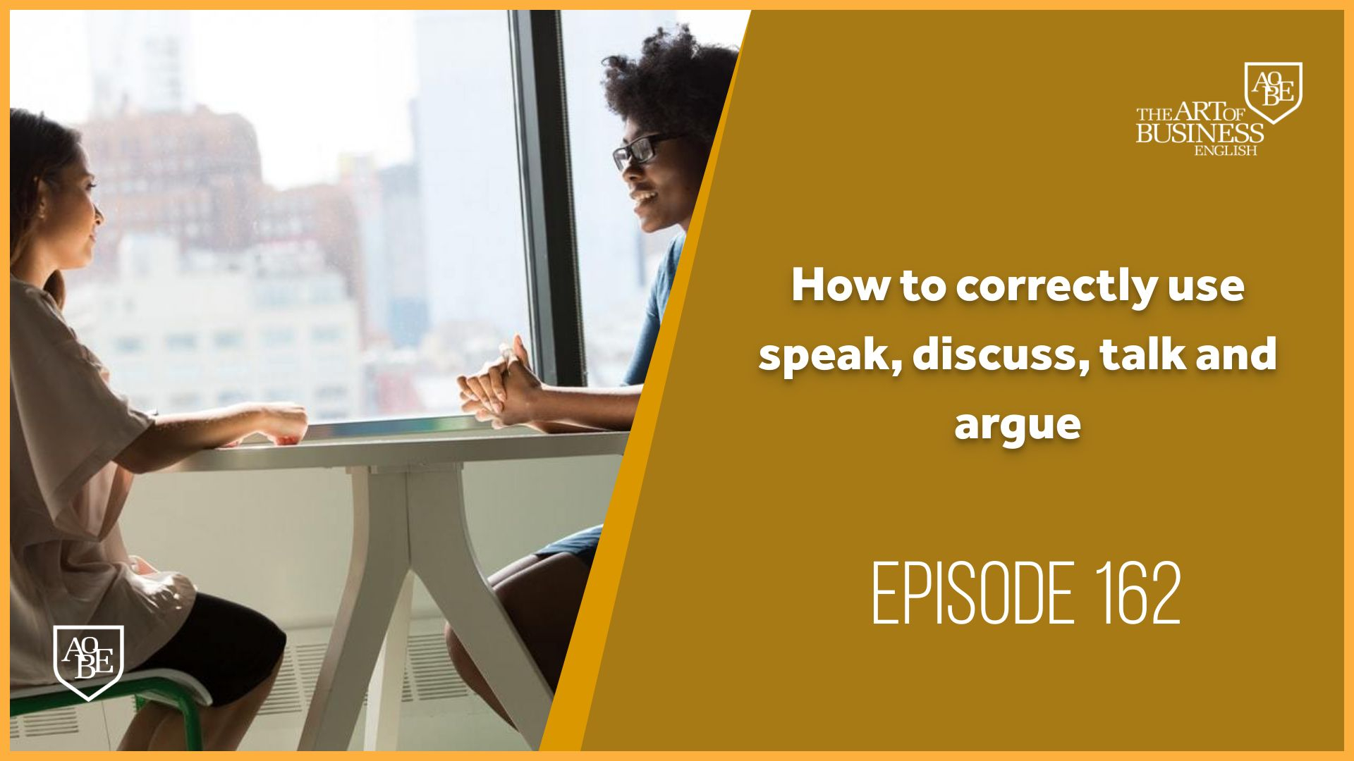 How to correctly use speak, discuss, talk and argue