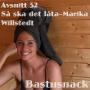 Artwork for 52 Så Ska Det Låta-Marika Willstedt