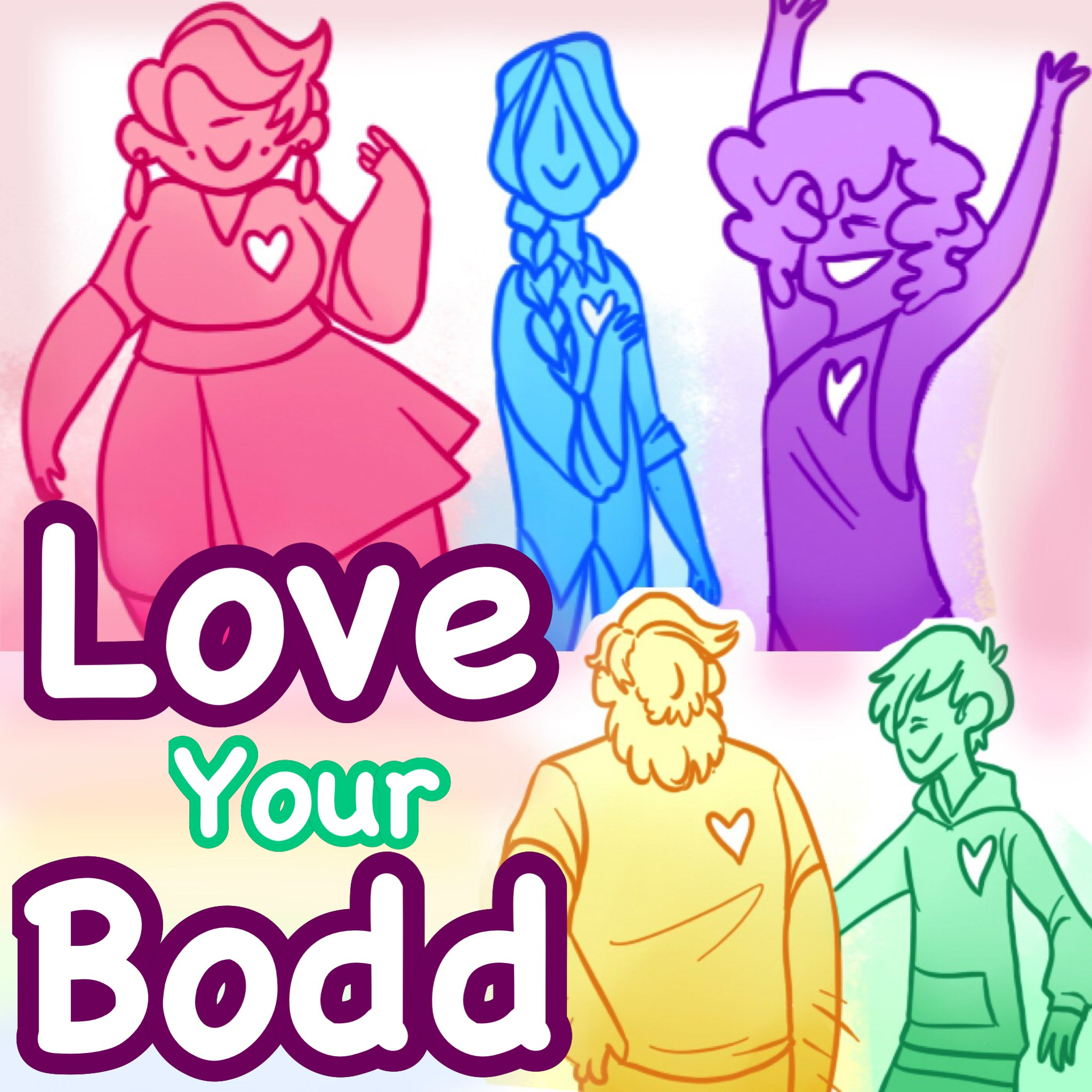 Love Your Bodd show art